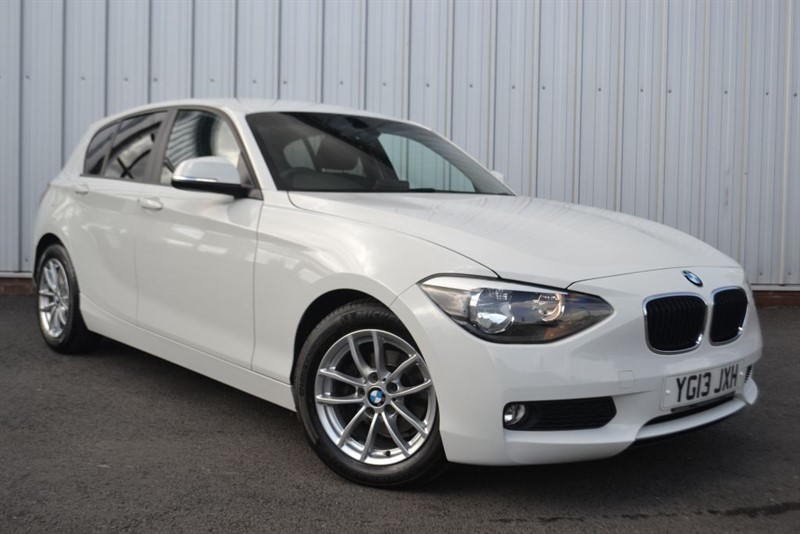 used BMW 116d EFFICIENTDYNAMICS in wigan-lancashire