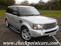 Used Land Rover Range Rover Sport TDV6 HSE (DIESEL) AUTOMATIC 4X4 + SAT NAV + BIG SPEC
