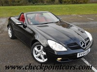 Used Mercedes SLK350 CONVERTIBLE 7 SPEED AUTOMATIC + ROSSO RED FULL LEATHER