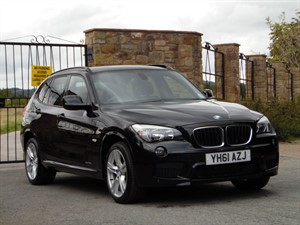 used BMW X1 XDRIVE18D M SPORT in wrexham