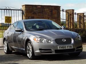 used Jaguar XF V6 LUXURY (DIESEL) AUTOMATIC in wrexham