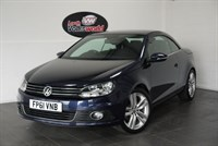 used VW Eos TDI SPORT BLUEMOTION 2DR SAT NAV REAR PARK ASSIST in lincolnshire-for-sale