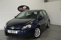 used VW Golf TDI MATCH 5DR LOW MILEAGE £30 P/YEAR TAX in lincolnshire-for-sale