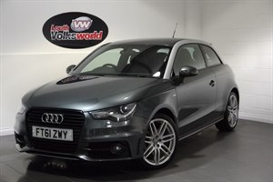 used Audi A1 TDI S LINE 3DR 70 MPG £0 R/F LICENCE in lincolnshire-for-sale