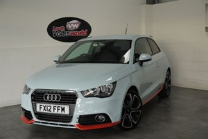used Audi A1 TFSI COMPETITION LINE 3DR HALF LEATHER in lincolnshire-for-sale