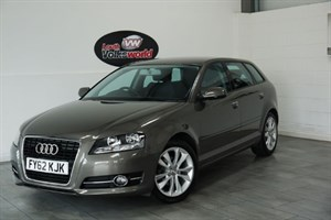 used Audi A3 TDI SPORT 5DR HALF LEATHER £20 P/YEAR TAX in lincolnshire-for-sale