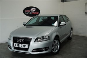 used Audi A3 TDI SE SPORTBACK 5DR AIR CON £30 P/YEAR TAX SAVE £1000 in lincolnshire-for-sale