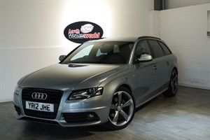 used Audi A4 Avant TDI S LINE BLACK EDITION ESTATE in lincolnshire-for-sale