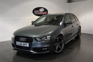used Audi A4 Avant TDI S LINE BLACK EDITION HALF LEATHER INTERIOR CRUISE CONTROL in lincolnshire-for-sale