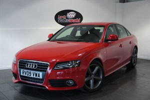 used Audi A4 TDI S LINE 4DR HALF LEATHER INTERIOR RECENT CAMBELT AND WATER PUMP in lincolnshire-for-sale