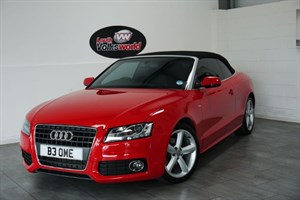 used Audi A5 TDI S LINE 2DR 170BHP HALF LEATHER INTERIOR in lincolnshire-for-sale
