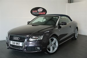 used Audi A5 TDI S LINE 2DR SAT NAV FULL LEATHER INTERIOR CRUISE CONTROL in lincolnshire-for-sale