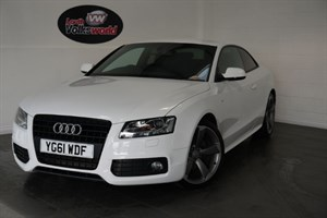 used Audi A5 TDI S LINE 3DR BLACK EDITION in lincolnshire-for-sale