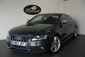 used Audi A5 S5 V8 QUATTRO 3DR SAT NAV FULL LEATHER INTERIOR CRUISE CONTROL in lincolnshire-for-sale