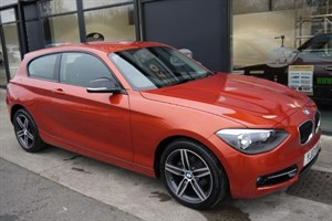 used BMW 114i SPORT 3DR COST NEW £19475 in lincolnshire-for-sale
