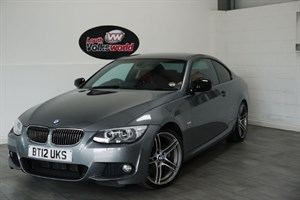 used BMW 325d SPORT PLUS EDITION 2DR AUTOMATIC SAT NAV FULL LEATHER INTERIOR in lincolnshire-for-sale