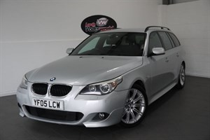 used BMW 525d SPORT TOURING 5DR AUTOMATIC SAT NAV FULL LEATHER INTERIOT in lincolnshire-for-sale