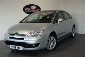 used Citroen C4 HDI CACHET 5DR ONE OWNER FULL SERVICE HISTORY £30 P/YEAR TAX in lincolnshire-for-sale