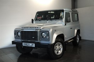 used Land Rover Defender TD XS 3DR STATION WAGON NO VAT in lincolnshire-for-sale
