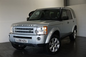 used Land Rover Discovery 3 TDV8 HSE 5DR AUTOMATIC SAT NAV FULL LEATHER INTERIOR PAN ROOF in lincolnshire-for-sale
