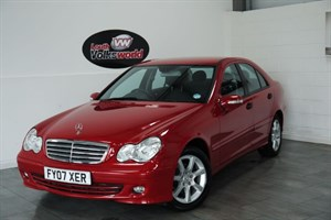 used Mercedes C180 CLASSIC SE 4DR AUTOMATIC FULL LEATHER HEATED SEATS in lincolnshire-for-sale