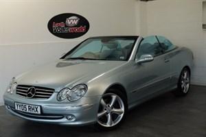 used Mercedes  CLK CLK200 KOMPRESSOR AVANTGARDE in lincolnshire-for-sale