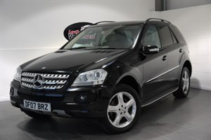 used Mercedes ML280 CDI EDITION S 5DR SAT NAV FULL LEATHER INTERIOR in lincolnshire-for-sale