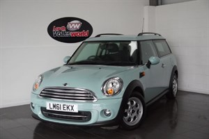 used MINI Clubman COOPER 1.6D 5DR PEPPER PACK £20 P/YEAR TAX in lincolnshire-for-sale