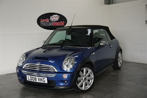 used MINI Convertible COOPER 1.6 S 3DR SAT NAV FULL LEATHER INTERIOR  in lincolnshire-for-sale