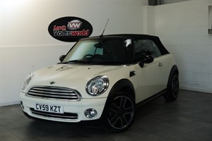 used MINI Cooper 2DR CONVERTIBLE CHILLI PACK FULL LEATHER INTERIOR in lincolnshire-for-sale