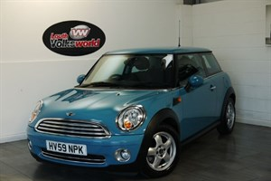 used MINI Hatch COOPER 3DR PEPPER PACK HIGH SPEC in lincolnshire-for-sale