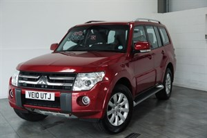 used Mitsubishi Shogun ELEGANCE D-DI 5DR AUTOMATIC SAT NAV FULL LEATHER in lincolnshire-for-sale