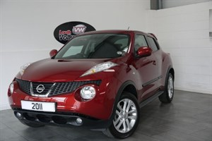 used Nissan Juke ACENTA SPORT 5DR HIGH SEATS LOW MILEAGE in lincolnshire-for-sale