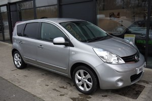used Nissan Note DCI TEKNA 5DR SAT NAV £20 P/YEAR TAX in lincolnshire-for-sale