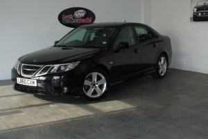 used Saab 9-3 TURBO EDITION TID SAT NAV FULL LEATHER INTERIOR CRUISE CONTROL SAVE £1000 in lincolnshire-for-sale