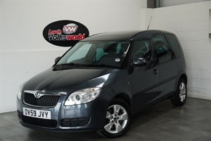 used Skoda Roomster TDI SE 5DR AIR CON PAN ROOF in lincolnshire-for-sale