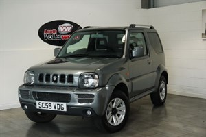 used Suzuki Jimny SZ4 3DR AIR CON HALF LEATHER INTERIOR in lincolnshire-for-sale