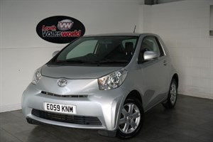used Toyota iQ IQ VVTI 3DR in lincolnshire-for-sale