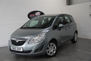 used Vauxhall Meriva EXCLUSIVE 5DR AIR CON HIGH SEATS in lincolnshire-for-sale