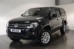 used VW Amarok TDI TRENDLINE 4MOTION 5DR TOW BAR CARRY BOX in lincolnshire-for-sale
