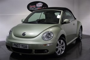 used VW Beetle CABRIOLET 2DR AUTOMATIC FULL LEATHER INTERIOR HEATED SEATS CRUISE CONTROL in lincolnshire-for-sale