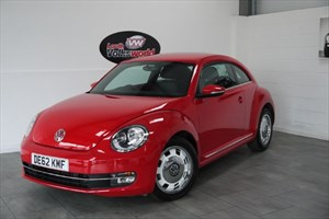 used VW Beetle DESIGN TDI 3DR FRONT AND REAR PARK ASSIST SAVE £500 in lincolnshire-for-sale