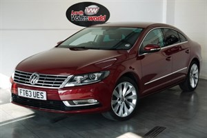 used VW Passat CC TDI GT BLUEMOTION 4DR AUTOMATIC SAT NAV FULL LEATHER INTERIOR in lincolnshire-for-sale