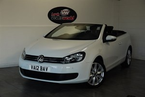 used VW Golf TDI SE BLUEMOTION 3DR CONVETIBLE in lincolnshire-for-sale