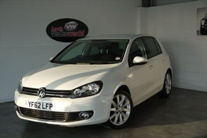 used VW Golf TDI GT 5DR AUTOMATIC FULL LEATHER INTERIOR BLUETOOTH in lincolnshire-for-sale