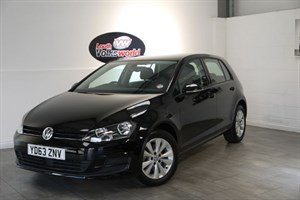 used VW Golf TDI BLUEMOTION SE 5DR FREE R/F LICENCE in lincolnshire-for-sale