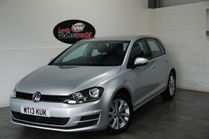 used VW Golf TDI BLUEMOTION SE 5DR £0 TAX P/YEAR in lincolnshire-for-sale