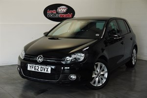 used VW Golf TDI GT 5DR AUTOMATIC FULL LEATHER INTERIOR in lincolnshire-for-sale