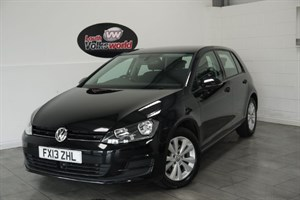 used VW Golf TDI BLUEMOTION SE 5DR £20 TAX P/YEAR 65 MPG PLUS in lincolnshire-for-sale