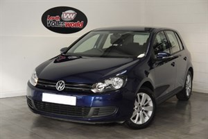 used VW Golf TDI MATCH 5DR £30 P/YEAR TAX in lincolnshire-for-sale